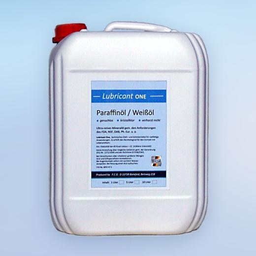 Paraffinöl, medizinische Qualität, mittelviskos (5 Liter)