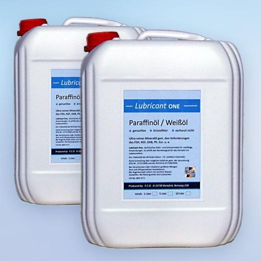 Paraffinöl, medizinische Qualität, mittelviskos (2x 10 Liter)